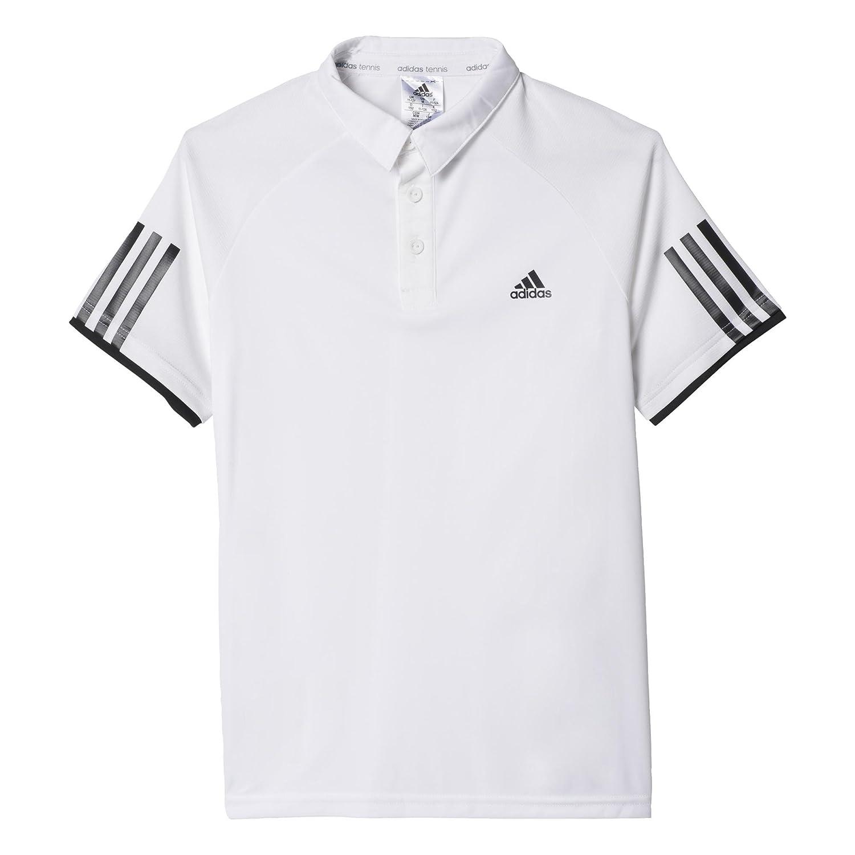 adidas Oberbekleidung Club Polo, Niños, Blanco/Negro-(Blanco/Negro ...