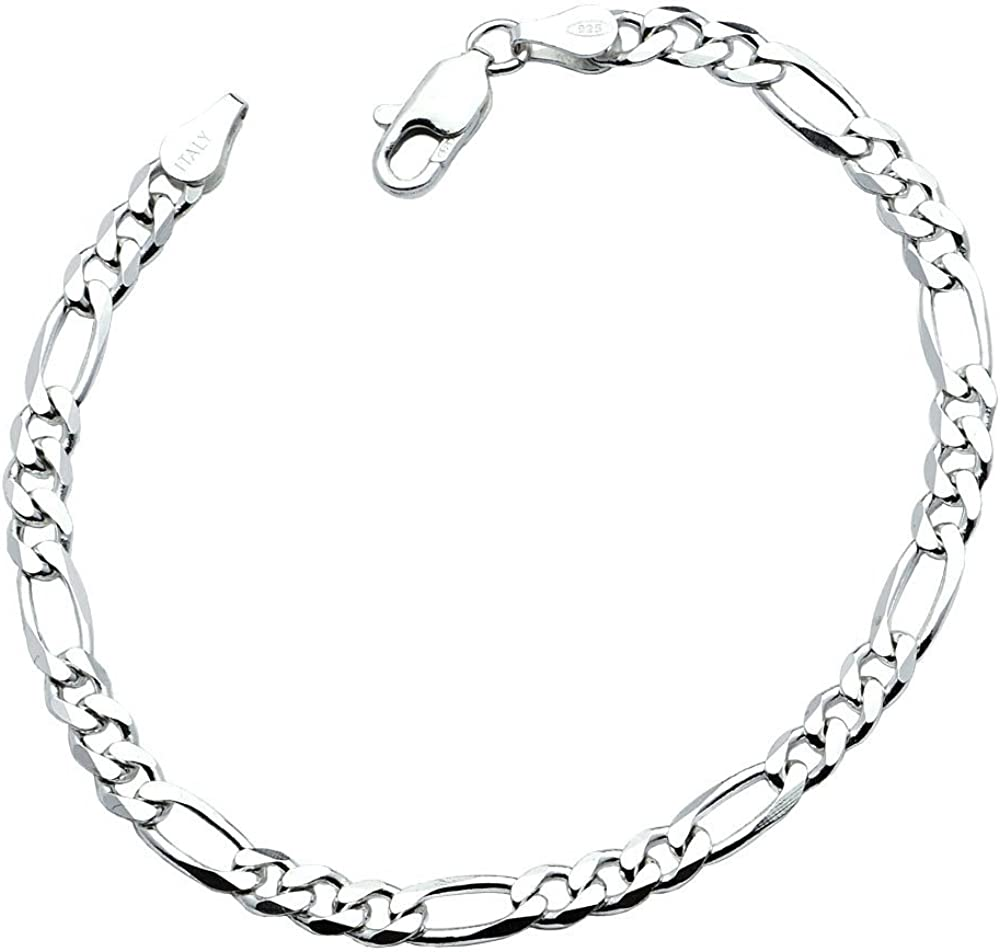Sterling Silver BOX Chain Necklace 015 Gauge Stamped 925 Italy