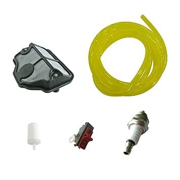 JRL - Filtro de aire para interruptor de bujías Husqvarna 36 41 136 137 141 142: Amazon.es: Jardín