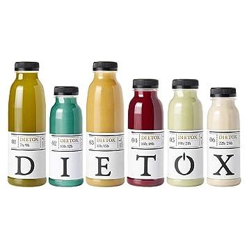 Zumos Detox 5 días - Licuados 100% frescos la auténtica terapia detox