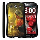 Ecoskin LG G Pro Case [Guardian Series 02] Masterpiece Collection Printing Streamlined Shock Absorbent TPU Case with 9H Hardness Screen Protector F240 (MP01) [Retail Packaging] [Made in Korea]