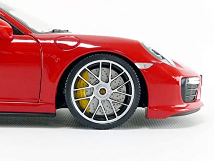 Minichamps 110067122 Porsche 911 Turbo S 1:18 2016, Color Rojo: Amazon.es: Juguetes y juegos