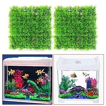 Broadroot árbol de pesca, paisaje, 4 piezas, planta artificial de césped verde, adorno para acuario, pecera, decoración de pirata: Amazon.es: Productos para ...