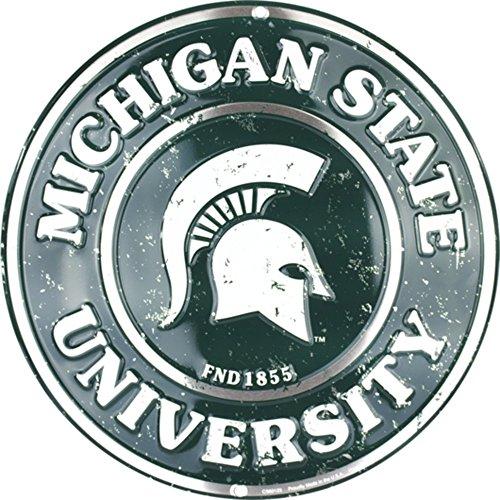 Detroit Shirt Company Michigan State Spartans Circle Sign ()