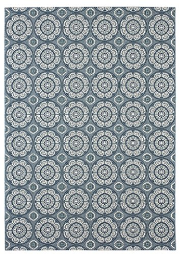 Balta Rugs 19251639.240305.1 Whitfield Blue Indoor/Outdoor Area Rug, 8' x (Inspiration Sisal Rug)
