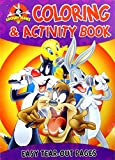 Set of 4 Looney Tunes Coloring Books - 2 Loony Tunes Books and 2 Baby Loony Tunes Books - 4 books Total - 98 Pages Each!