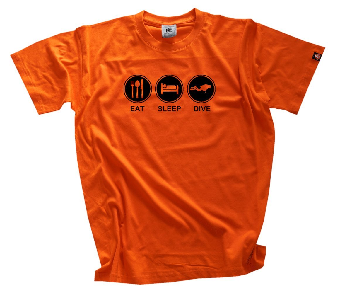 EAT Sleep Dive Dive Dive Tauchen Taucher Diver T-Shirt S-XXXL B001JAVQIU T-Shirts Schnelle Lieferung 2bea1b