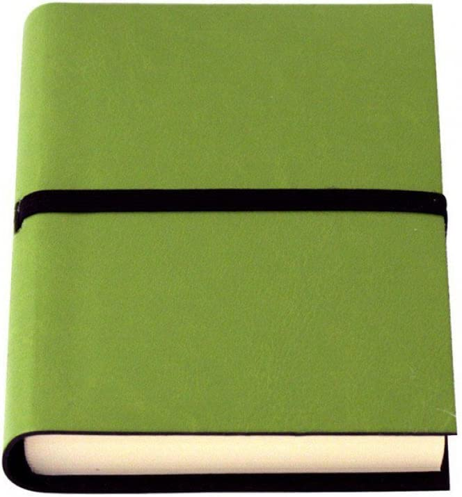 Amazon Com Coles Ravello Small Recycled Leather Journal Green Office Products