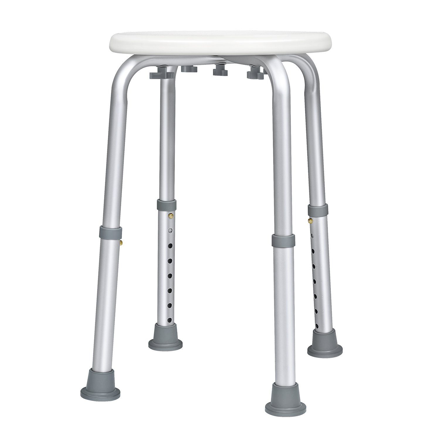 Bath chair for seniors - Amazon Com Jcmaster Bathtub Shower Stool For Handicapped And Seniors Lightweight Bath Chair Round Health Personal Care
