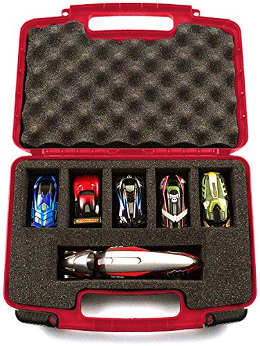 Water Works Monopoly Costume (Life Made Better Storage Organizer - Compatible with Anki Overdrive Starter Kit - Durable Carrying Case - Red)