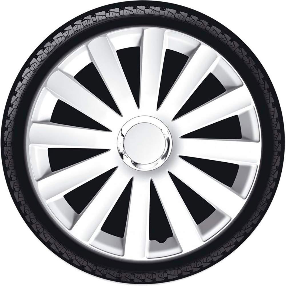 Set wheel covers Spyder 16-inch white chrome ring