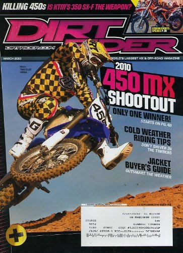 Dirt Rider March 2010