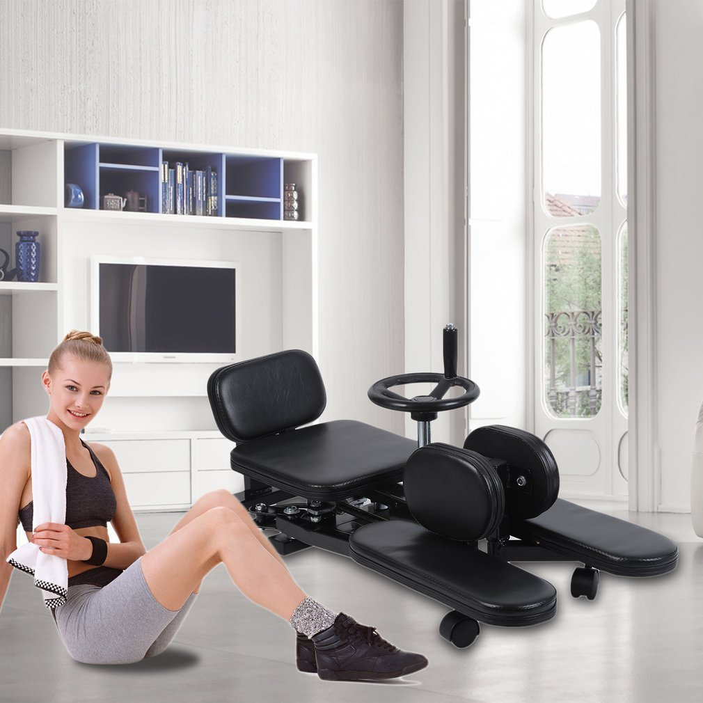 Homgrace Pro Leg Stretch Machine, Heavy Duty Steel Frame Leg Stretcher Training Leg Splitter Gym Gear Fitness Equipment by Homgrace (Image #2)