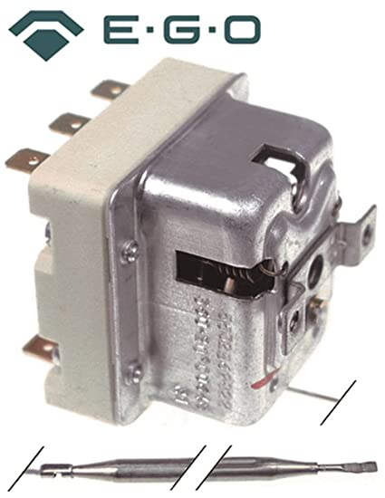 Seguridad Termostato EGO Tipo 55.32543.803 para fritura