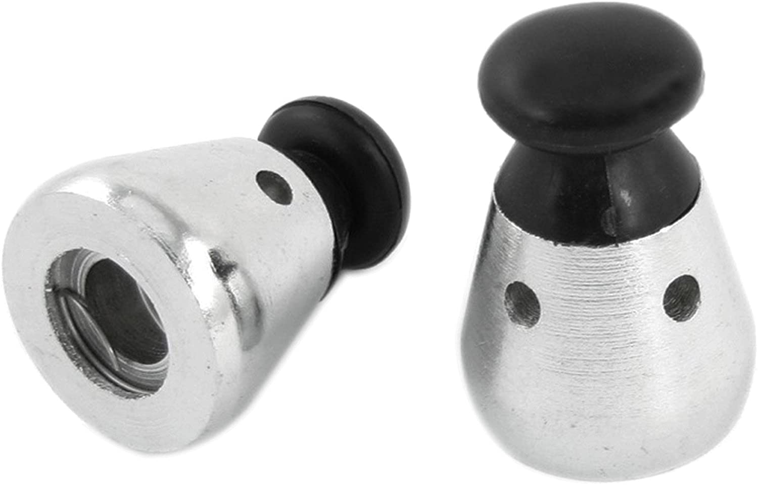 Ogrmar Pressure Cooker Jigger Valve Pack of 2 Black (2 pcs)