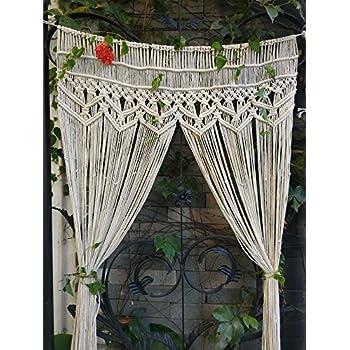 Amazon Com Riseon Macrame Wall Hanging Tapestry Macrame