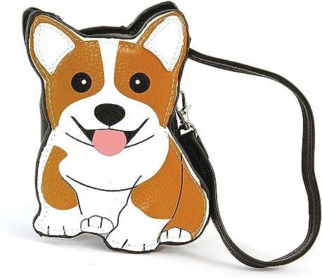 Sleepyville Critters-Corgi Dog Zippered Coin Purse
