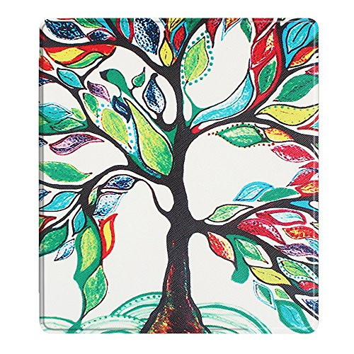 TOTOOSE Kindle Oasis 2017 Case, Kindle Oasis 2017 PU Leather Folio Flip Cover Durable Slim Shell for Kindle Oasis 2017 (Tree) by TOTOOSE