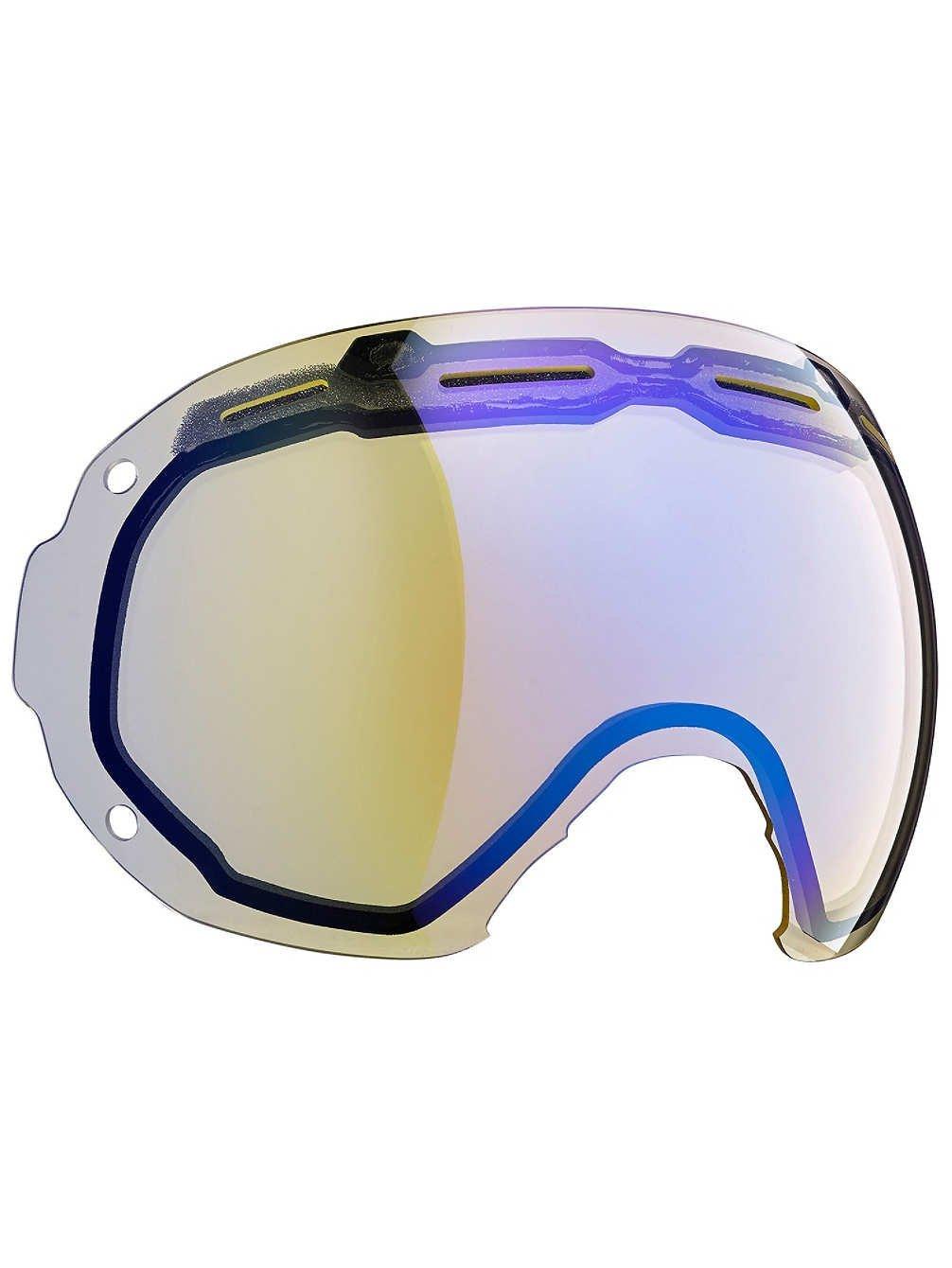 Bern 2016 / 17イーストウッド/モンロー大きなフレーム冬雪ゴーグル交換レンズ B017JOQSCS  Yellow/Blue Light Mirror One Size