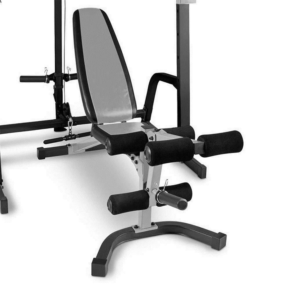 MRT SUPPLY Sistema de Jaula de Fitness para Gimnasio en casa con ...