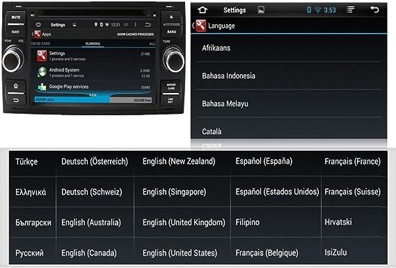 Android 5.1.1 Lollipop Radio de coche GPS navegación estéreo para ...
