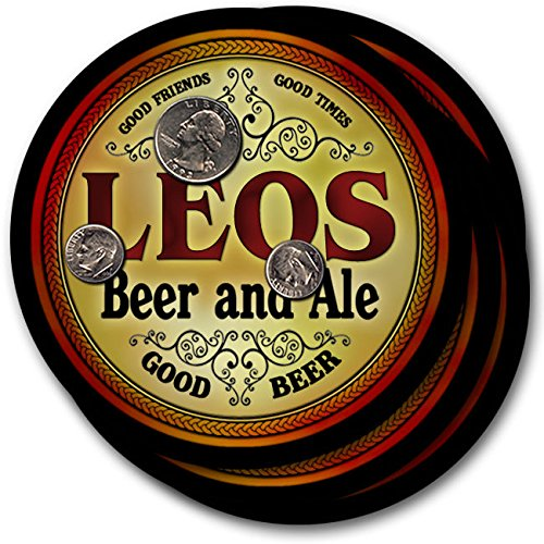 leos-beer-ale-4-pack-drink-coasters