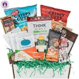 #6: Low Carb KETO Snacks Box: Mix of Low Sugar High Fat Ketogenic Diet Snacks, Cookies, Protein Bars, Beef Sticks & Pork Rinds Keto Care Package