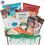 Niedrig Carb KETO Snacks Box: Mix of Low Sugar High Fat Ketogenic Diet Snacks, Cookies, Protein Bars, Beef Sticks & Pork Rinds Keto Care Package