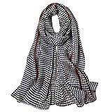 Women's Silk Scarf Fashion Sunscreen Shawls Wraps for Headscarf&Neck