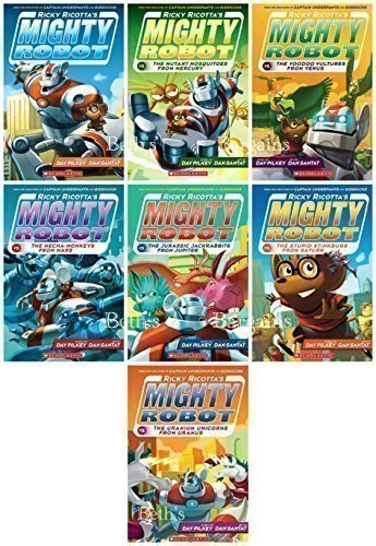 Ricky Ricotta's Mighty Robot (7 Volume set)