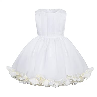Amazon.com: FEESHOW Baby Girls\' Embroidered Flower Party Wedding ...