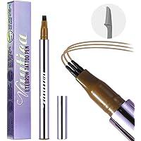 VANTICA Microblading Eyebrow Pen - Waterproof Eyebrow Tattoo Pen, Liquid Eyebrow Pencil with 3 Micro-Fork Tips & Eyebrow…