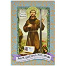 NobleWorks ''St Festivus'' Funny Merry Christmas Greeting Card, 5'' x 7'' (1064)