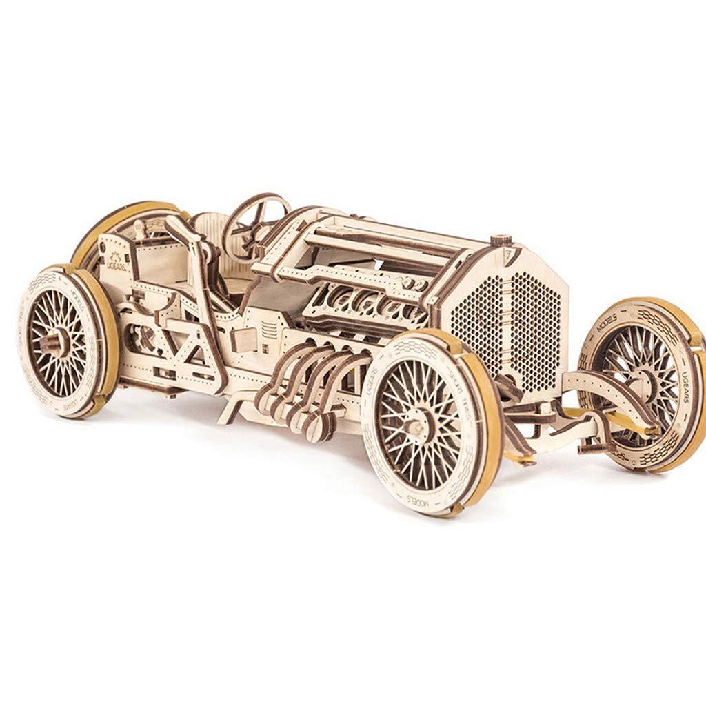 AX- model toy 3D Rompecabezas Modelo de Coche clásico montado de Madera / 348 unids 35  9.5  13 cm