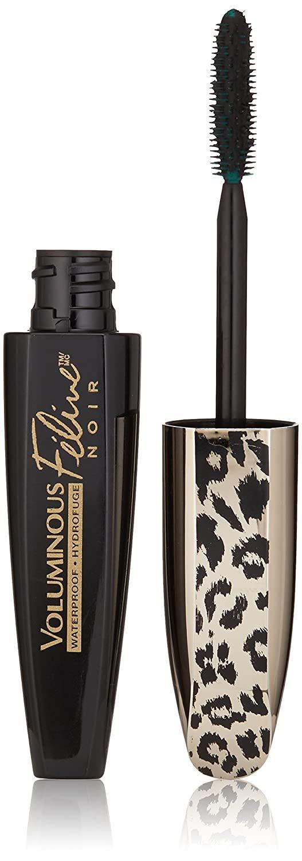 L'Oréal Paris Voluminous Feline Noir Waterproof Mascara, Blackest Noir, 0.27 fl. oz.