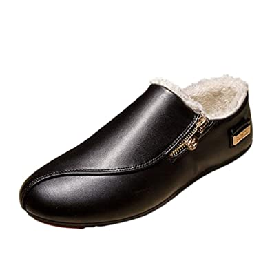 Men's Casual Flat Loafers Driving Slip On Moccasins Shoes Slippers