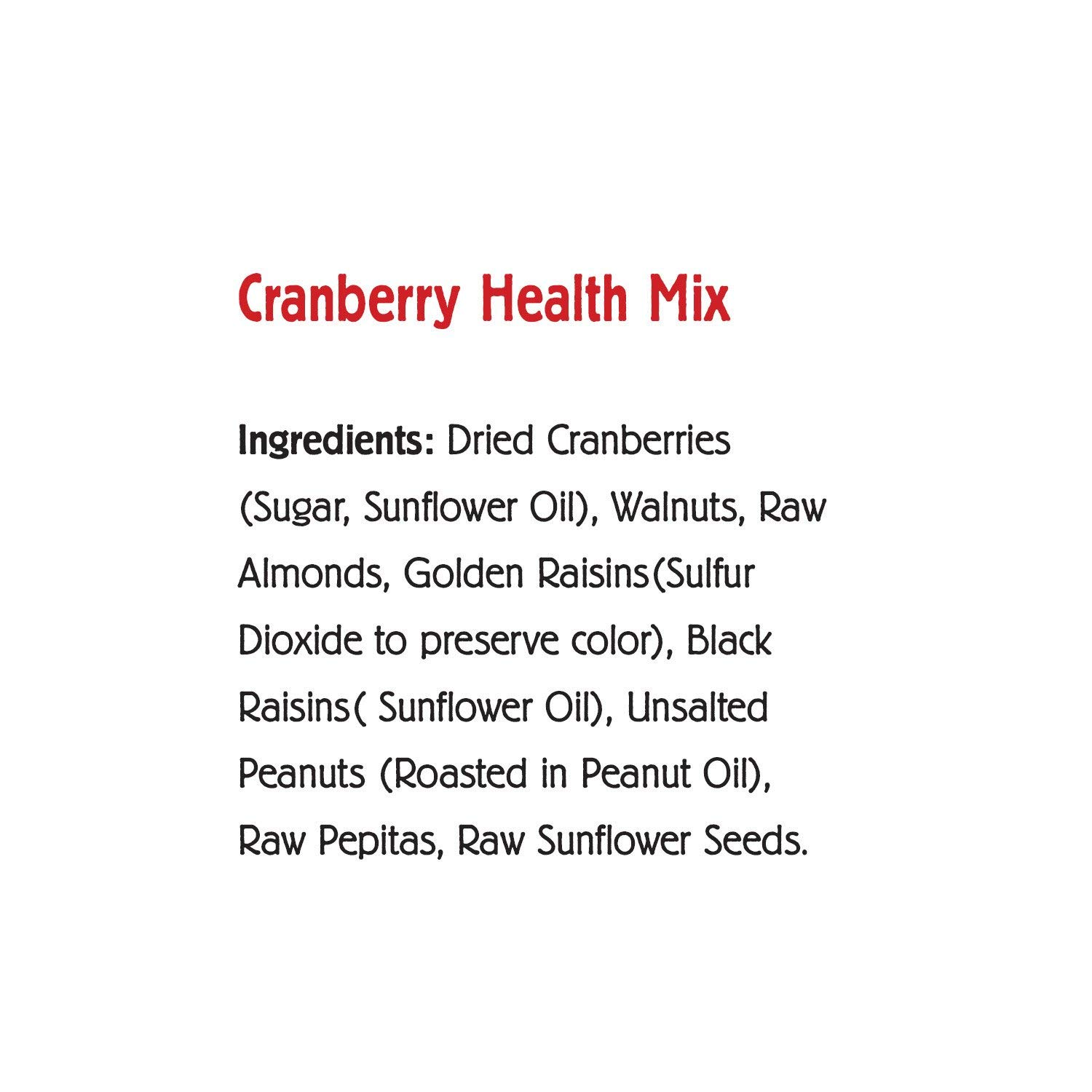 Nature's Garden Trail Mix Snack Packs, Multi Pack 1.2 oz bags, Pack of 24, Omega-3 Deluxe Mix, Cranberry Health Mix (Pack of 2) by Nature's Garden (Image #5)