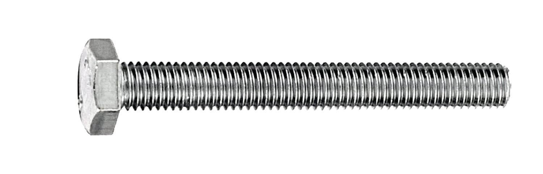 Connex Sechskantschrauben M8 x 50 mm, DIN 933, 1000 g, verzinkt, KL4080850 Conmetall