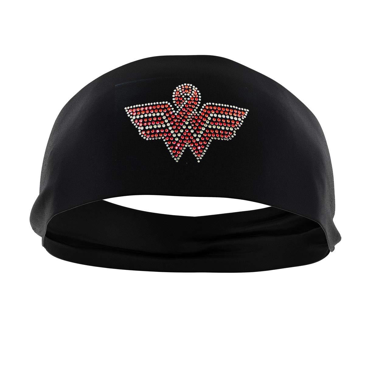 RAVEbandzファッションヘッドバンド(ラインストーン) Ñ調節可能、ノンスリップスポーツ&フィットネス用ヘアバンドレディース、ガールズ  Wonder Woman Breast Cancer Awareness B07ND5DWH9