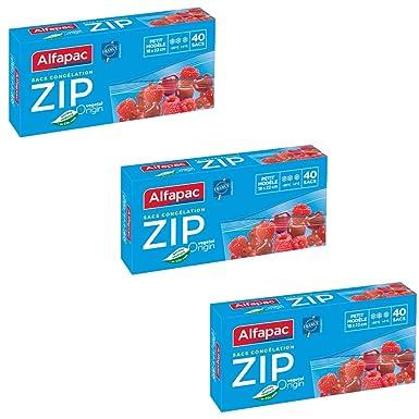 Alfapac - Bolsas de congelación, pequeña, biodegradable ...