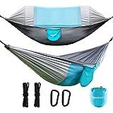 Newdora Hammock with Mosquito Net 2 Person Camping, Ultralight Portable Windproof, Anti-Mosquito, Swing Sleeping Hammock Bed