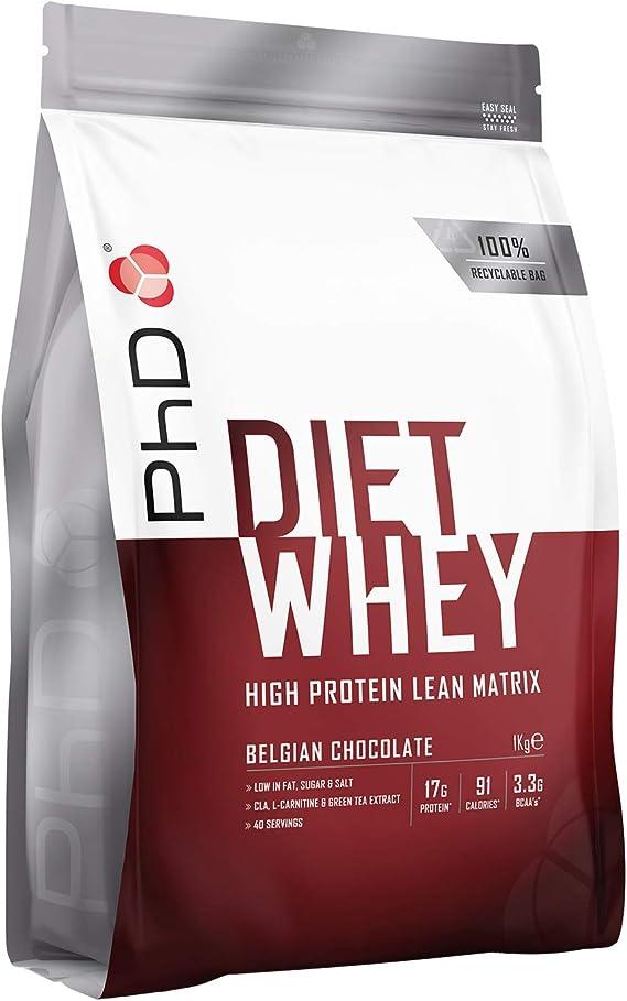 PhD Nutrition Proteína Whey, 40 Porciones, Proteína Magra En ...
