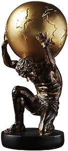 Atlas Ornament Sculptures Decorative Figurine Human Model and Mannequin Display Sculpture Decoration House Decoration Statue Statue,13 13.5 29cm