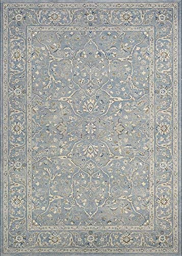 """Couristan Sultan Treasures Floral Yazd Slate Blue Area Rug, 5'3"""" x 7'6"""", from Couristan"""