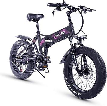 XXCY Neumático Gordo De 20 Pulgadas, Motor 36v 500w, Bicicleta ...