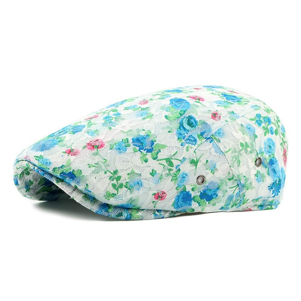 Spring Summer Retro Beret Cap Lace Outdoor Travel Duck Tongue Beret Womens Mens Newspaper Boy Casual Hat Hat/&Cap