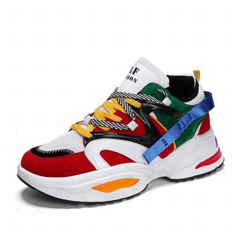 Z&J Herren Turnschuhe Schuhe, Winter, Spell Farbe Schuhe, Leichter Schnürschuh, Sportschuhe, Outdoor-Schuh, Komfort-Flache Müßiggänger, Laufschuhe, Freizeit-   Wanderschuhe