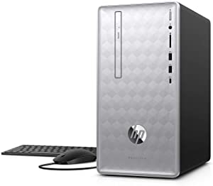 Newest HP Pavilion 590 Desktop Computer, 8th Intel 6 Cores i5-8400, 2.8GHz up to 4.0GHz, 8GB RAM and 16 GB Intel Optane Memory, 1TB HDD, Bluetooth 4.2, WiFi 802.11ac, Win10, (Renewed)