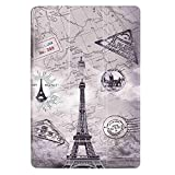 Cuitan Flip Case PU leather Case Cover for ASUS Zenpad 10 Z300C 10.1 Inch, Stand Cover Case Shell with Auto Wake / Sleep Function, Protective Cover & Stylus for ASUS Zenpad 10 Z300C - Vintage Tower