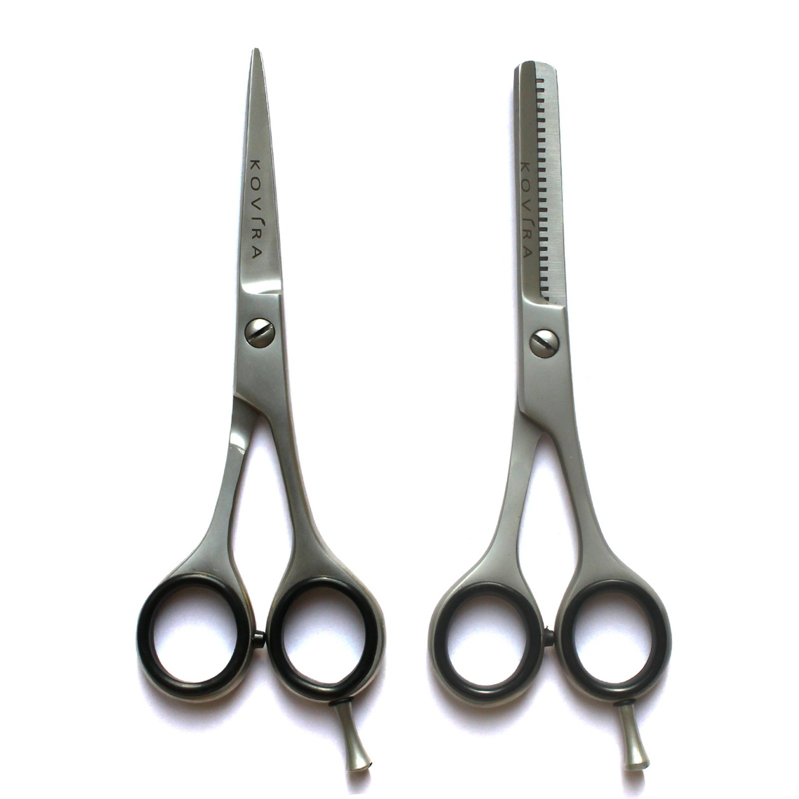 Professional Hairdressing Scissors/Thinning Shears/Hair scissors - Barber Hair Cutting Scissors for Thinning/Texturing Scissors - Razor Sharp Japanese Stainless Steel & Fine Adjustment Tension Screw by Kovira (Image #5)